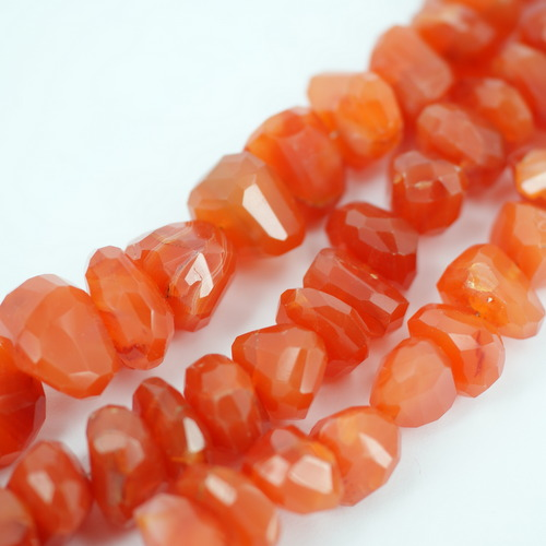 Carnelian Unusual Faceted Nugget