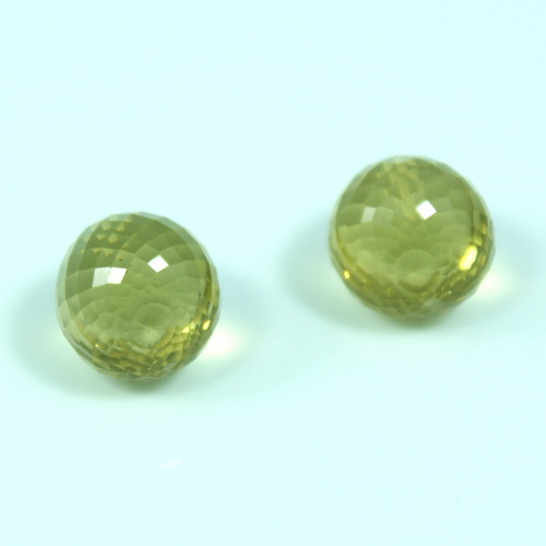 LEMON TOPAZ EARRING PAIR